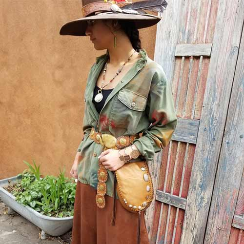 Deerskin Bags and Clothing